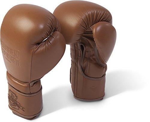Paffen Sport The Traditional Boxhandschuhe für das Sparring; braun; 14UZ -