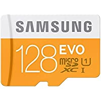 Samsung Evo 128GB MicroSDXC Class 10 Memory Card with SD Adapter