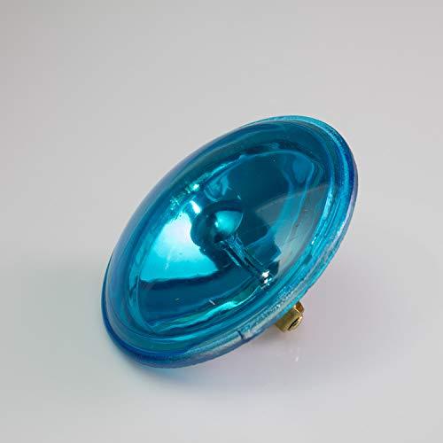 Set aus 5 x Leuchtmitteln PAR-36 6,4V / 30W / Sockel G-53 STC / 3000K / spot/blau - Ersatzlampe für PAR-36 Scheinwerfer - showking