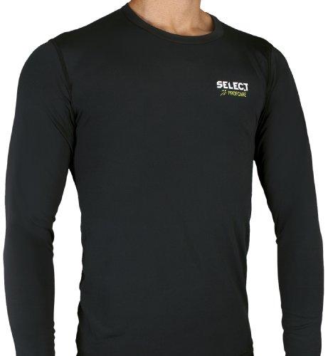 Select Biancheria intima a compressione Maglietta di compressione con maniche lunghe Nero (Schwarz)