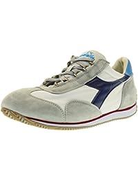 Diadora Heritage Equipe Stone Wash 12 Bianco Blu Estate - Sneakers Uomo -  44 EU 3d30f45b8e2
