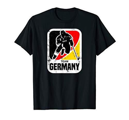 EISHOCKEY DEUTSCHLAND GERMANY TSHIRT VINTAGE -