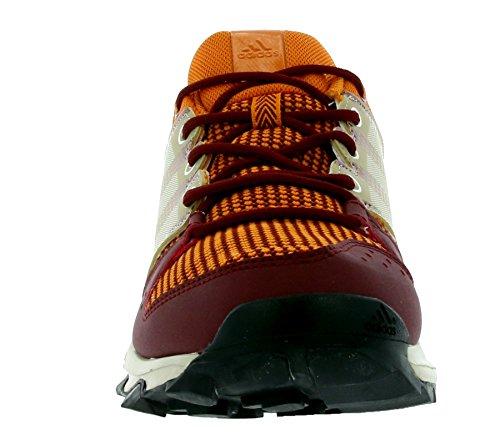 adidas Galaxy, Chaussures de Trail Homme Rouge (Arancionenartac/ftwbla/mararc)