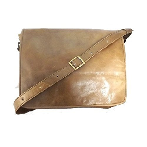 altieri ,  Damen Strandtasche marrone (Estate Leder Zip)