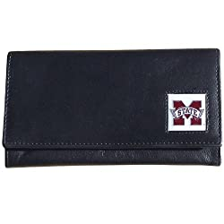 Mississippi St. Bulldogs Women's Leather Wallet