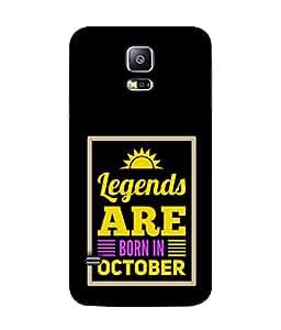 PrintVisa Designer Back Case Cover for Samsung Galaxy S5 Mini :: Samsung Galaxy S5 Mini Duos :: Samsung Galaxy S5 Mini Duos G80 0H/Ds :: Samsung Galaxy S5 Mini G800F G800A G800Hq G800H G800M G800R4 G800Y (Spritual Motivation Word Theme Atitude Month October)