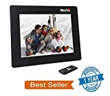 #7: Merlin digital india 7-inch Digital Media Frame with LCD Panel Screen, Motion Sensing Function and Supports MS, SD, MMC, USB-Disk Card