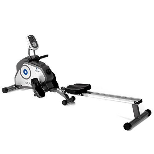 Marcy Regatta Folding Rowing Machine - Black