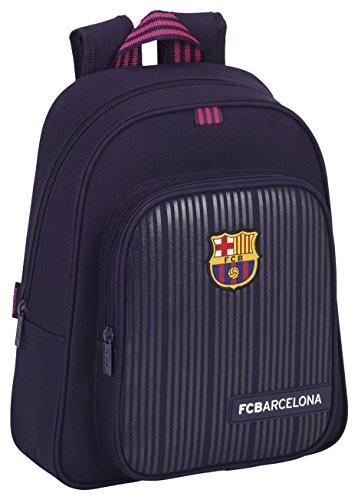 FC Barcelona Mochila Escolar, 34 cm, Morado