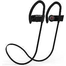 Auriculares Bluetooth ZOETOUCH Auriculares inalámbricos Bluetooth 4.1 Auriculares Deportivos con micrófono, cancelación de Ruido,