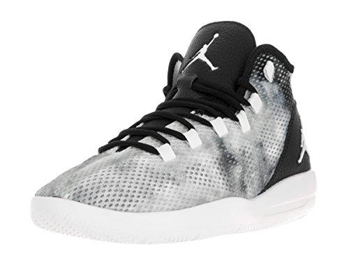 Nike  Jordan Reveal Prem, espadrilles de basket-ball homme Noir (Noir / Blanc-Infrarouge 23)