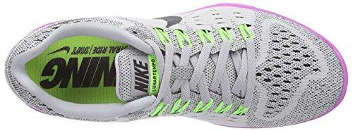 Scarpe Da Corsa Nike Lunar Da Donna Grigie (lupo Grigio / Nero-fucsia Flash)