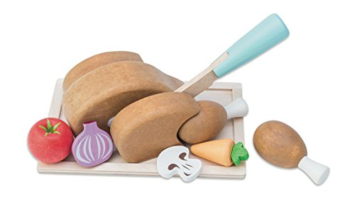 Le Toy Van Honeybake Chicken 'Sonntagsbraten-Set' aus Holz -