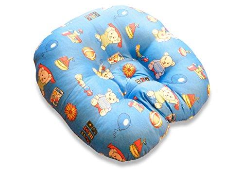 Baby Lounger Baby-Wippe Neugeborene 55 x 55 Baby-Schaukel Lagerungskissen Nestchen Schlaf-Kissen Liege-Kissen Baby-Stuhl (Bär)