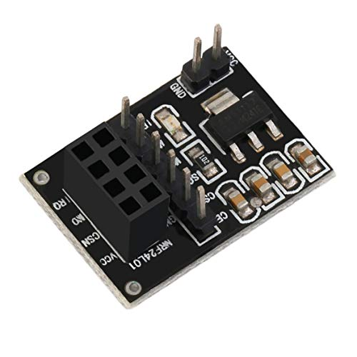 Sockel-Adapterplattenplatine für 8-polige NRF24L01 + Wireless-Transceive-Modul direkt an die Systemplatine angeschlossen