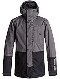 DC Shoes Defy Jkt Chaqueta para Nieve, Hombre, Gris (Dark Shadow Solid)