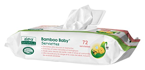 Aleva Naturals Bamboo Baby Wipes, 80pack 41WJVqX3trL