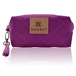 SHANY Cosmetics Limited Edition Mini Tote Bag and Travel Makeup Bag, Violet