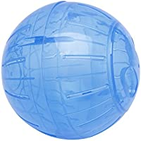 Karazhan – Pelota de Ejercicio de 14,5 cm, Colorida, plástico, Transparente, para hámster