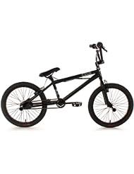 KS Cycling Fahrrad BMX Freestyle Four, Schwarz, 20, 519B