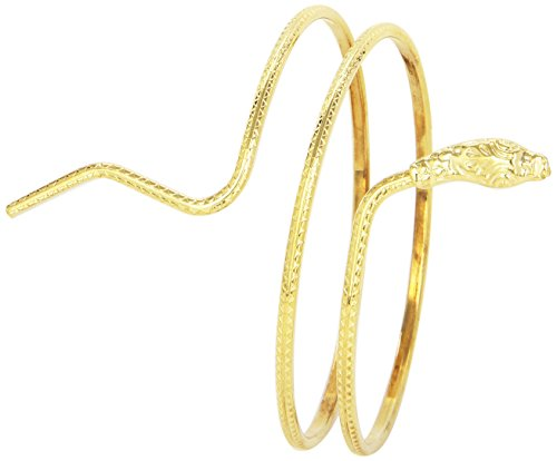 Ägyptisches Armband Gold Schlangen-Design, One Size