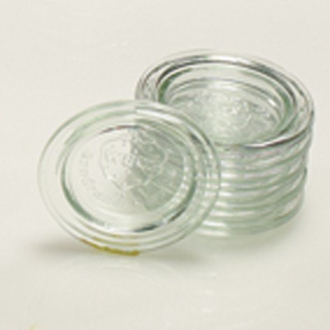 Preisvergleich Produktbild WECK Ersatz Glasdeckel Deckel 60MM F.SAFTFL. - 36 Stück (für RR 60)