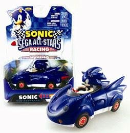 NKOK Sonic and sega all-stars Racing Pull Back Car – Sonic usato  Spedito ovunque in Italia