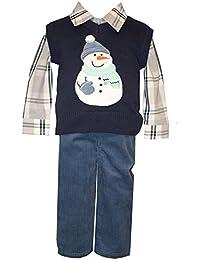 Matt´s Scooter 3tlg. Set Hemd, Hose & Pullunder, Jungen Outfit Deluxe, X28395-PL, Multicolored