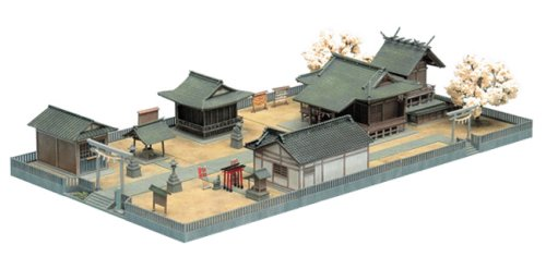 Shinto Shrine (Model Train) Tomytec 213413 Building Collection N Scale|1/150