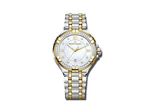 Maurice Lacroix AIKON AI1004-DY503-171-1 Reloj de Pulsera para mujeres Con 42 diamantes genuinos