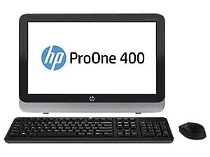 """'HP Proone 400G12.9GHz i3–4130T 19.5""""1600x 900pixels Noir, Argent PC tout en un ordinateur de bureau All in One (49,5cm (19.5), HD +, 4ème génération de processeurs Intel® Core ™ i3, 4GB, 500GB, FreeDOS)"""
