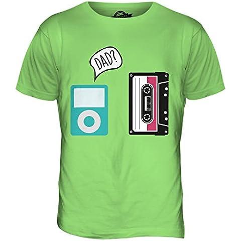 CandyMix Evoluzione Della Tecnologia T-Shirt da Uomo Maglietta
