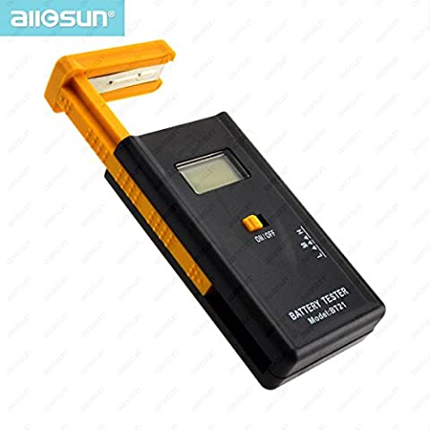 Tutoy All-Sun BT21 LCD Display Digital Battery Tester about 20-120mA Digital Battery Instrument