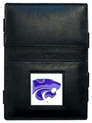 NCAA Kansas State Wildcats Leather  Jacob's Ladder Wallet