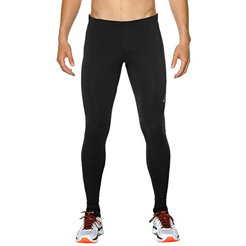Asics Performance Lite Herren Running Tight, Schwarz, L