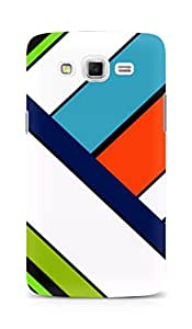 Amez designer printed 3d premium high quality back case cover for Samsung Galaxy Grand Max (Light colors line)