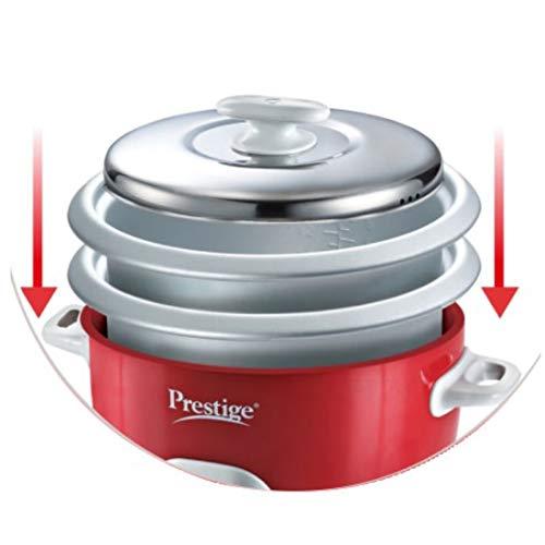 Prestige Delight Plastic Electric Rice Cooker 2.8-2(Red)