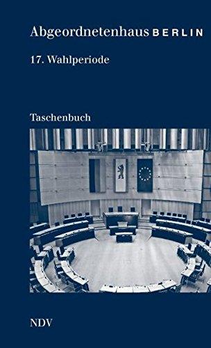 Abgeordnetenhaus von Berlin 17. Wahlperiode