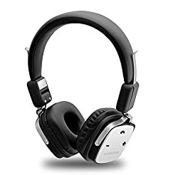 Ambrane WH-1100 Wireless Bluetooth Headphones with Mic
