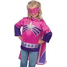 Melissa & Doug - Disfraz de superhéroe para niños (14784)