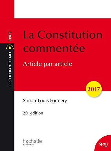La Constitution commente 2017 Article par article