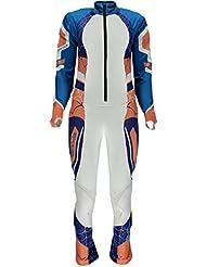 Combinaison De Ski Compétition Spyder Women's Nine Ninety White Coral French Blue