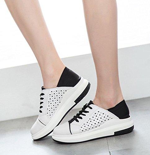 XTIAN , Chaussures à lacets femme Weiß