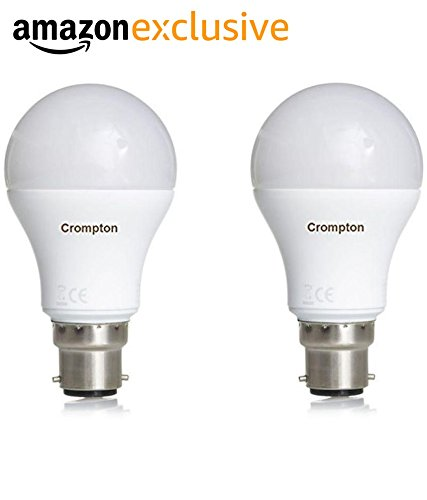 Led Wall Light Crompton: 33% OFF On Crompton B22 18-Watt LED Bulb (Pack Of 2, Cool