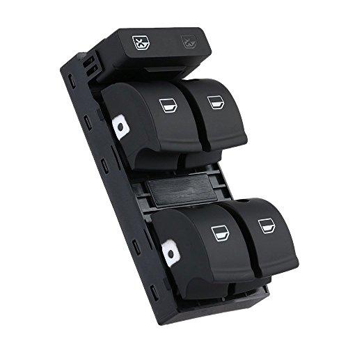 KKMOON 5 Taste Auto Elektronische Fensterheberschalter für Audi A4 B6 B7 02-05