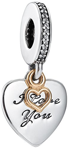 Pandora Damen -Bead Charms 925 Sterlingsilber 792042CZ
