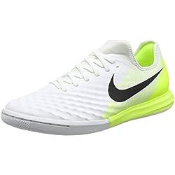 Nike Magistax Finale II IC, Zapatillas de Fútbol Hombre, Blanco (White / Black-Volt), 41