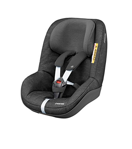 Maxi-Cosi Pearl ONE i-Size Reboarder passend zur FamilyFix ONE i-Size Basisstation, Kinderautositz Gruppe 1 (9-18 kg), nomad black (schwarz)