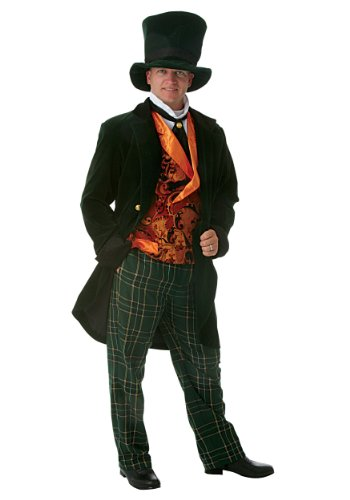 Deluxe Adult Mad Hatter Fancy dress costume -