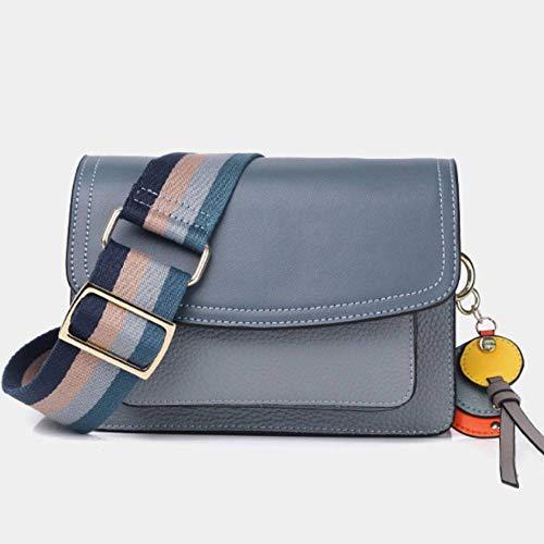 SHUAI Kleine quadratische Tasche Breitband Orgel Tasche weibliche Wilde Umhängetasche Lederhandtasche Mode Umhängetasche (Orgeln Verwendet)